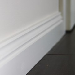 White Kitchen Floor Natural Gas Stove Skirting Board | Decorating Ideas Pinterest Living ...