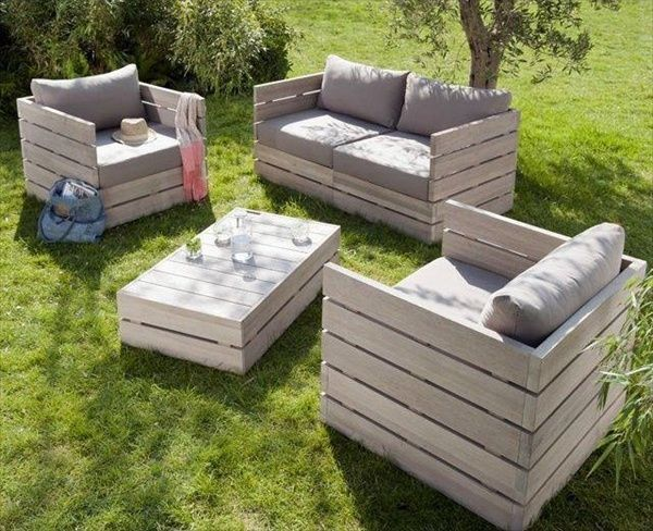 25 Best Ideas About Pallet Outdoor Furniture On Pinterest