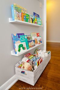 Cute bookshelf for a kid's room | playroom ideas ...