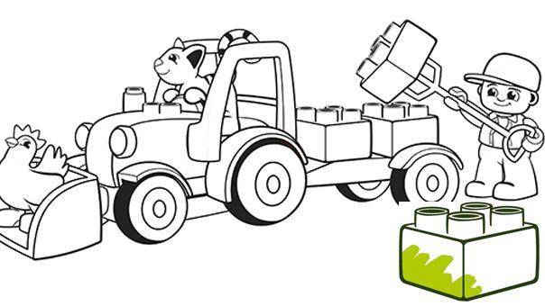 Lego Duplo Ice Cream Truck Instructions