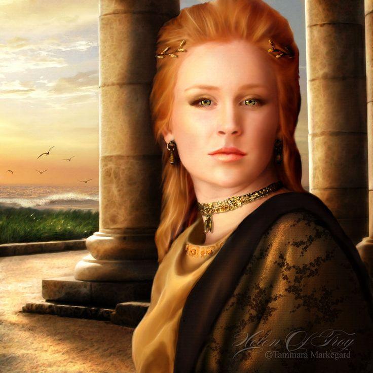 Helen of Troy  Greek Mythology  Pinterest  Troy and Helen of troy