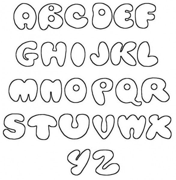 free alphabet letters to trace for valentines day banners