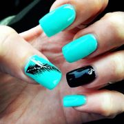 nails turquoise ideas