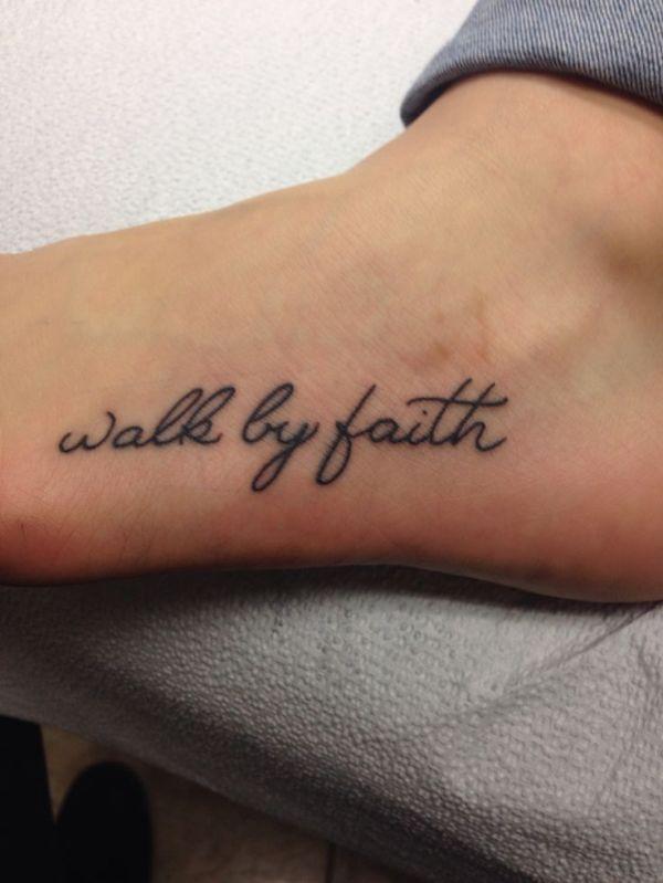 ideas walk faith