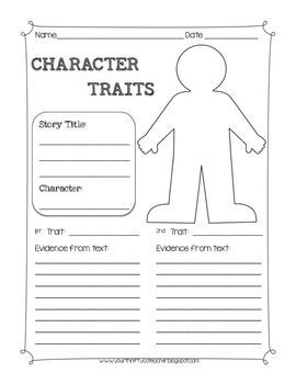 38 best images about Reading-Character Traits on Pinterest