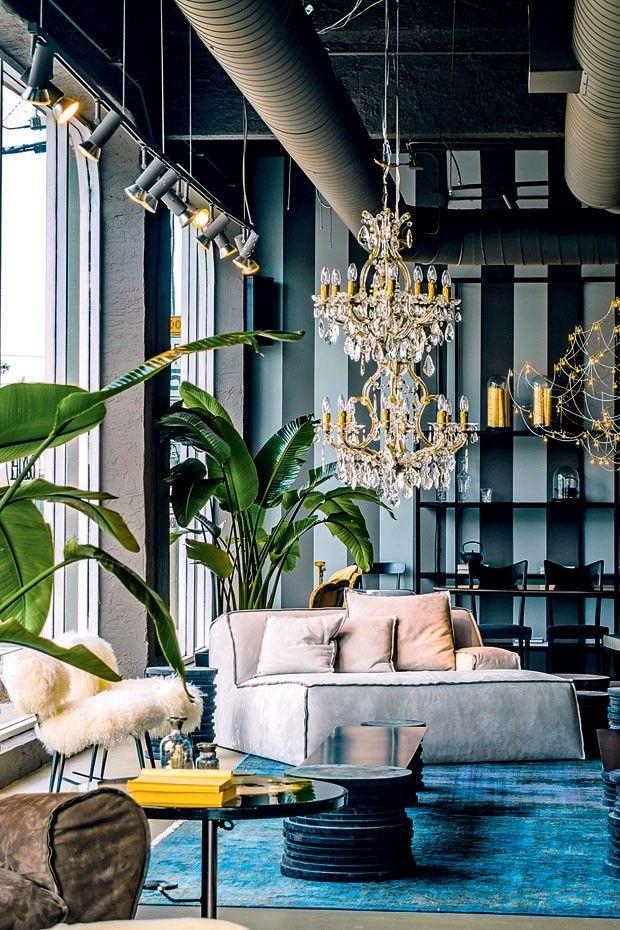 Reduto criativo do luxo em Miami  Restaurant Furniture