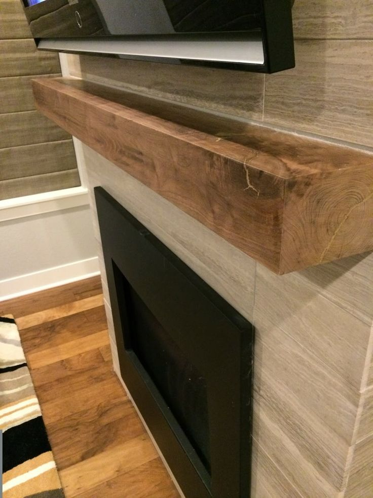 Walnut Mantle Daltile Chenille White Travertine Honed Modern Fireplace And Mantle Casa