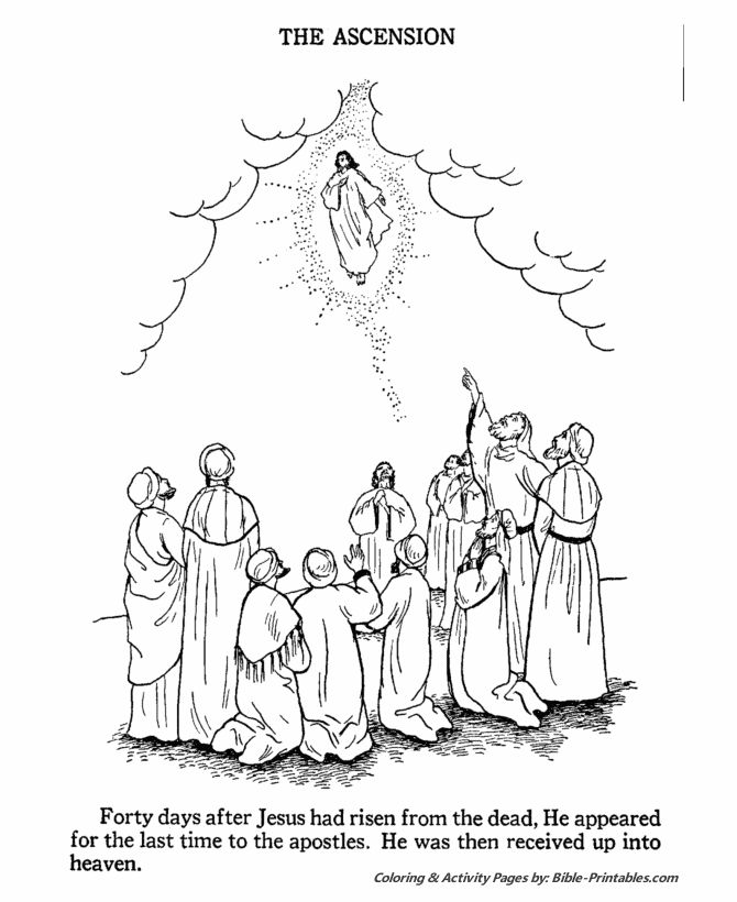 13 best images about Preschool Jesus Ascension on