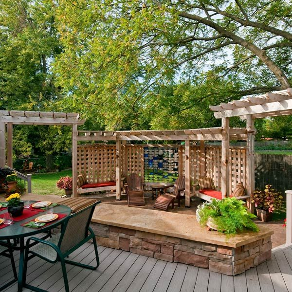 1000 Images About Deck And Backyard Privacy Ideas On