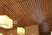 Linear Systems for Walls and Ceilings