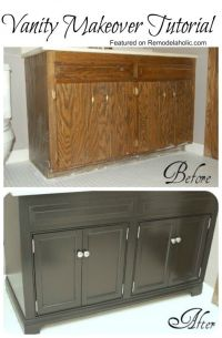 Diy Bathroom Vanity Update - WoodWorking Projects & Plans