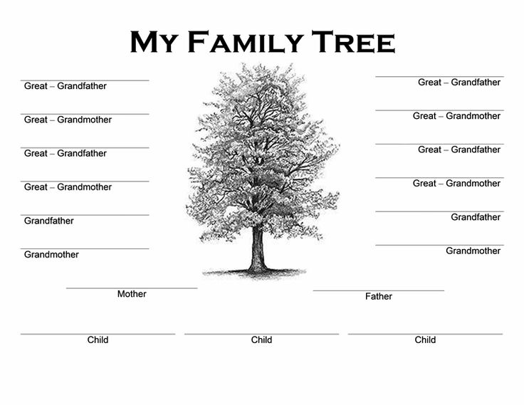 1000+ ideas about Family Tree Template Word on Pinterest