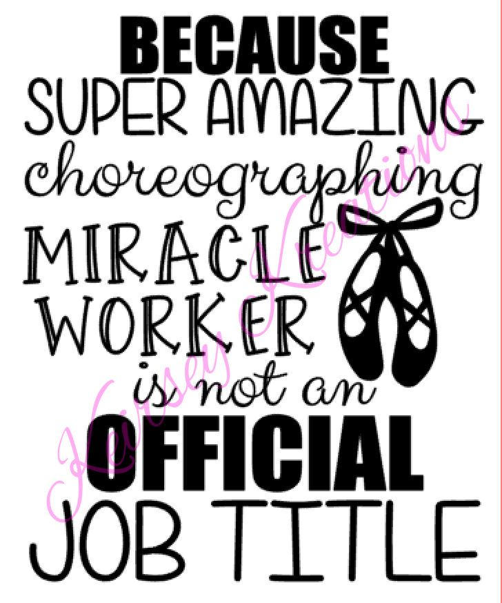 Dance Teacher SVG Cutting File By KeirseyKreations2013 On