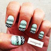 1000 ideas tribal nail design