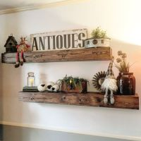 25+ best ideas about Rustic floating shelves on Pinterest
