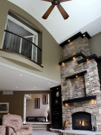 Alcove and spotlights | Fireplace Design | Pinterest ...