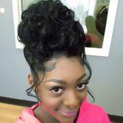 prom hair work