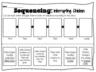 17+ ideas about Sequencing Worksheets on Pinterest