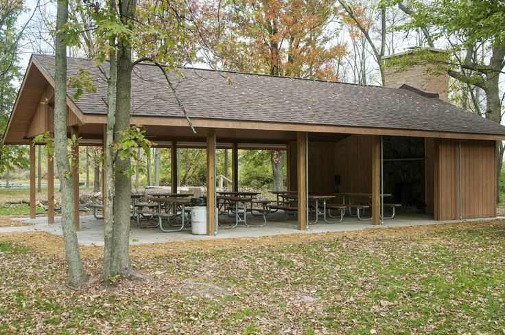 New Picnic Shelter With Fireplace Awaits Visitors At Bay