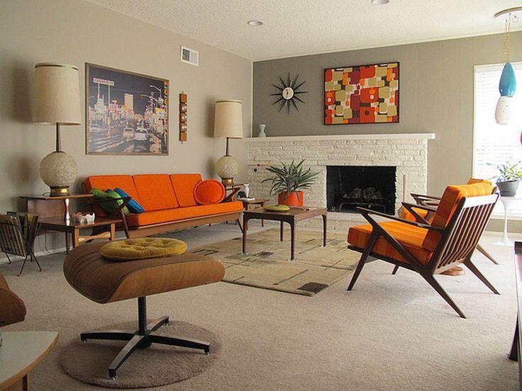 Best 25+ Mid Century Living Room Ideas On Pinterest