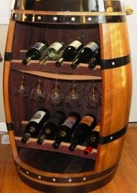 wine barrel cabinet | Roselawnlutheran