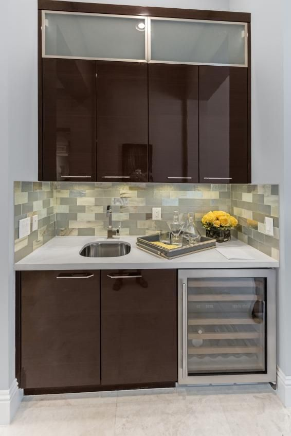 small space wet bars  small bar wet bars don t require a lot of  For the Home  Pinterest