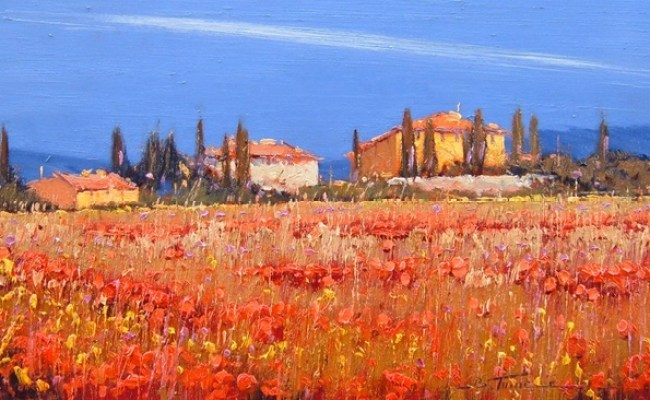 1 Bruno Tinucci Paintings Tuscany Italy Pinterest