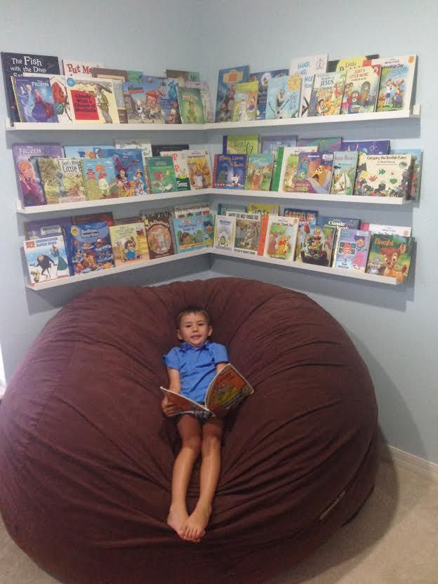 bean bag chairs for kids ikea walmart white chair 21 best images about eyfs book corner / reading on pinterest