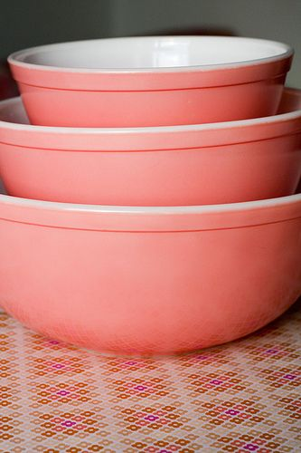 32 Best Images About Pyrex Pink On Pinterest Mixing Bowls