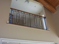 Wrought Iron Interior Railings Stairs,Painted,Designed ...