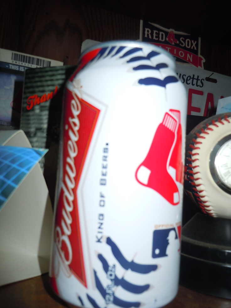 Boston Red Sox World Champions Budweiser Beer