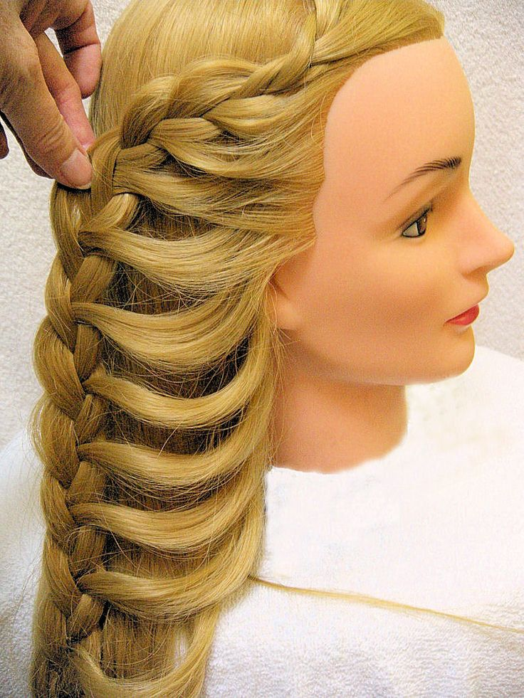 23 Best Images About Hair Designs On A Mannequin On Pinterest