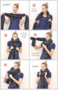 104 best images about Scarf Tying 101 on Pinterest | Tie ...