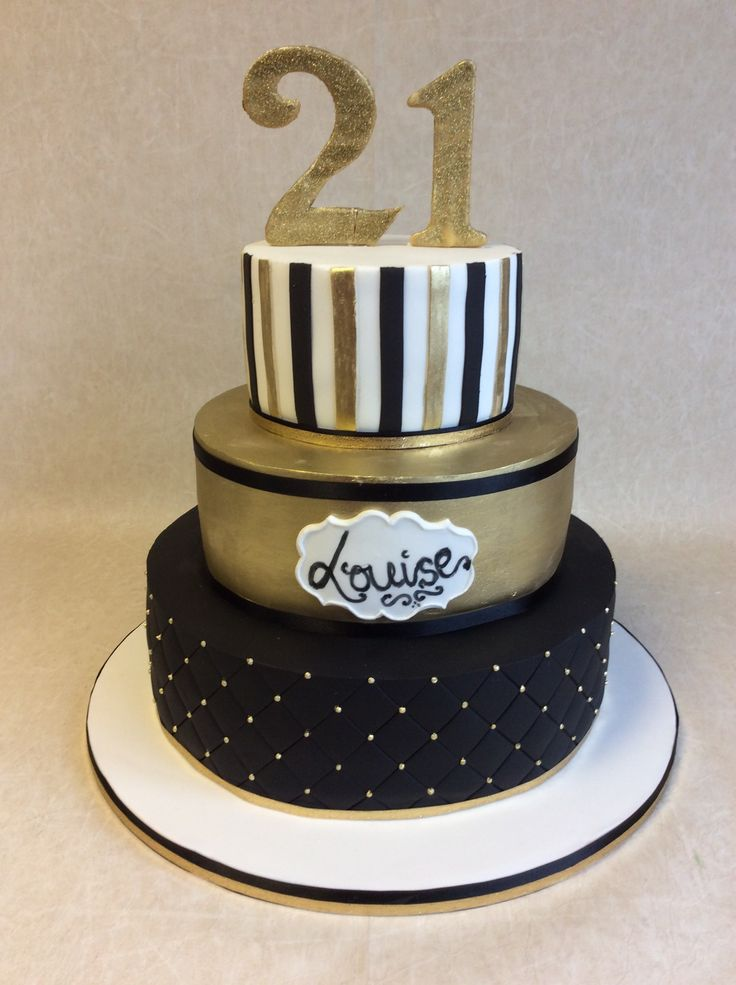 Gold And Cake Men Black 50th Birthday Ideas