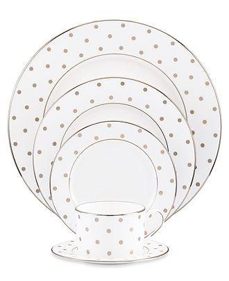 kate spade new york Dinnerware, Larabee Road 5 Piece Place Setting – Fine China – Dining & Entertaining –
