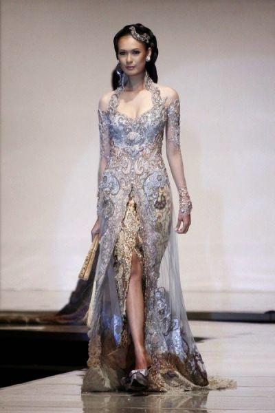 Kebaya Wedding Dress Model Kebaya Modern   Kebaya Kebaya ...