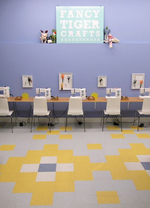 17 Best images about Sewing and craft classroom ideas on