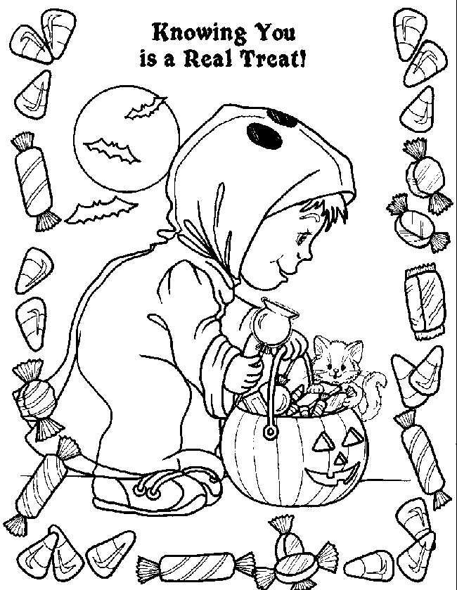 332 best images about Halloween coloring pages on Pinterest