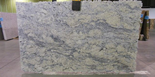 Aspen White Granite Slab Barrett Guest New House