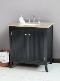 15+ best ideas about Black Bathroom Vanities on Pinterest