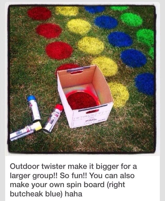 Backyard Twister! Would Cli