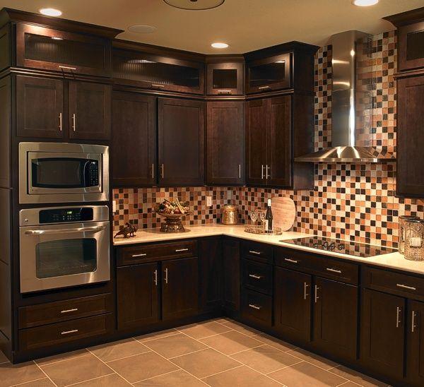 kitchen cabinets cleveland ohio bronze sink 17 best images about mocha cabinet design ideas on ...