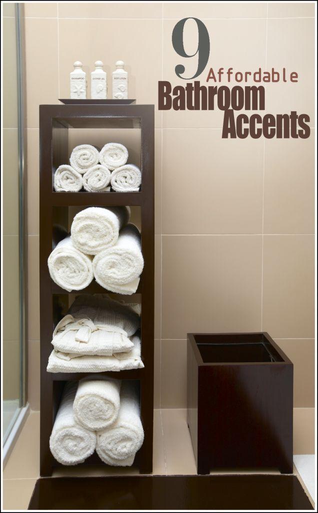 17 Best ideas about Bathroom Towel Storage on Pinterest