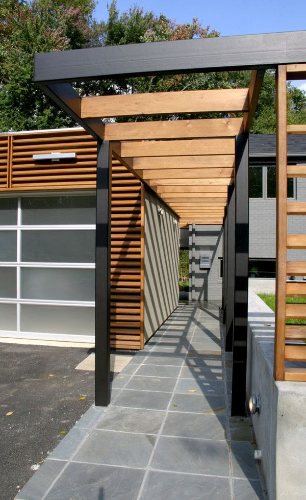 Prefer Modern To Romantic Consider A Pergola With Clean