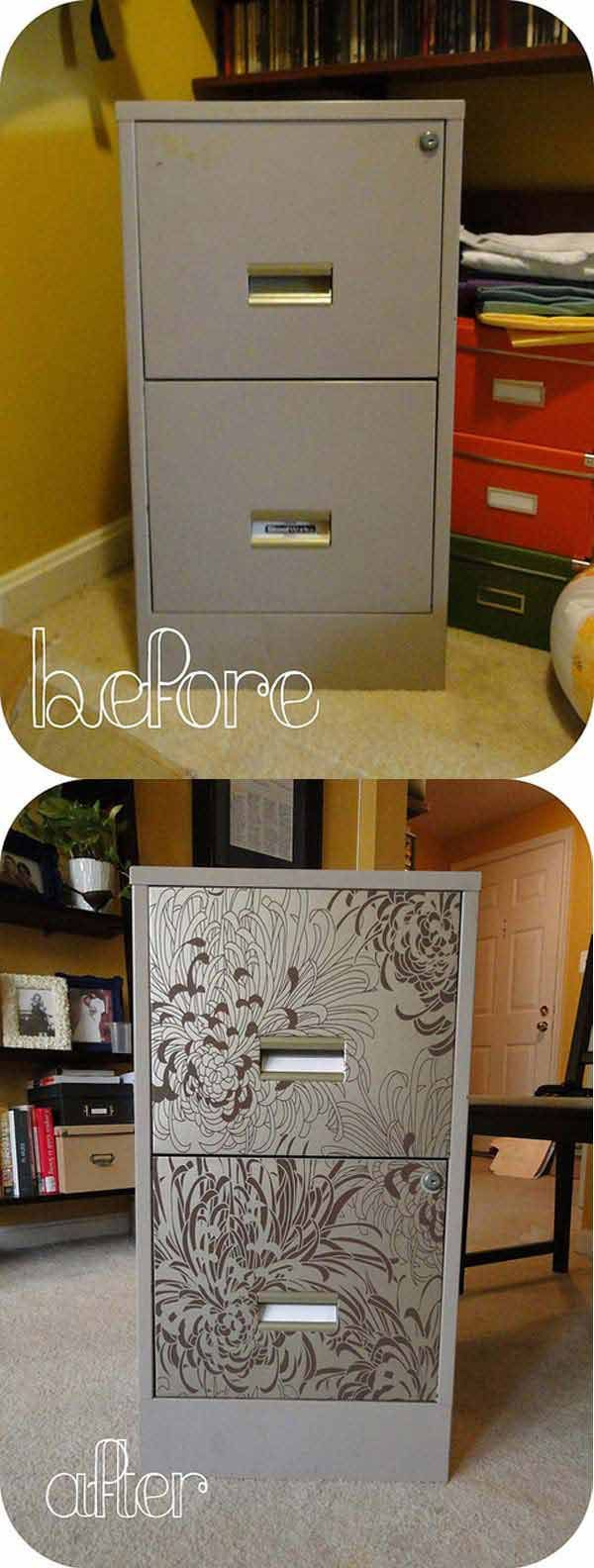 Best 20 File Cabinet Makeovers ideas on Pinterest