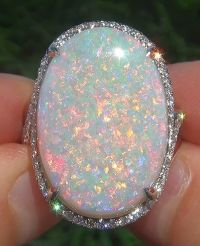 25+ best ideas about Opal rings on Pinterest | White opal ...