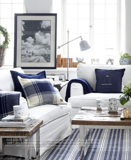 25 best ideas about Navy family rooms on Pinterest