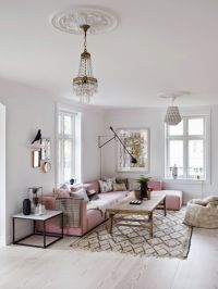 25+ best ideas about Pink sofa on Pinterest | Blush grey ...