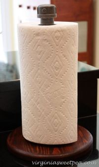 1000+ ideas about Paper Towel Holders on Pinterest | Paper ...