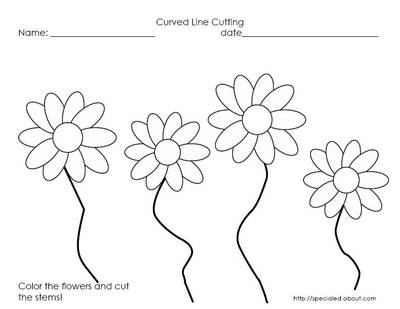 17 Best ideas about Cutting Practice Sheets on Pinterest
